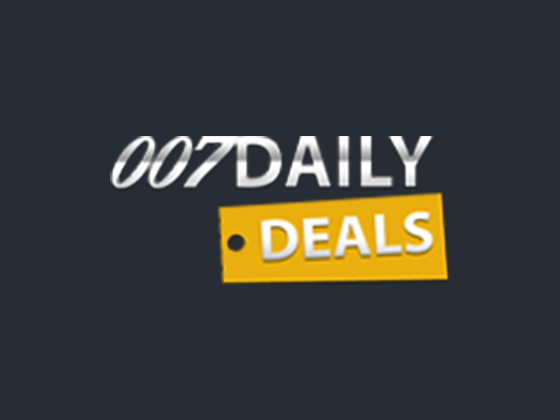 007 Daily Deals Promo Code & Voucher Codes : 2017