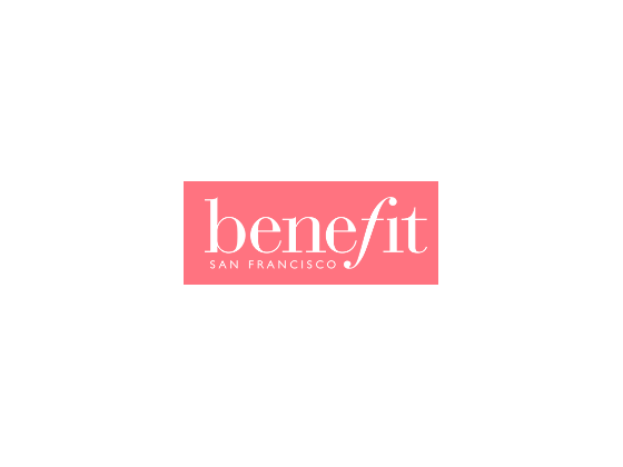 View Benefit Cosmetics Vouchers andPromo Code -