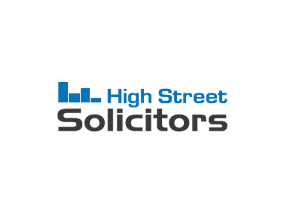 Valid High Street Solicitors Discount & Promo Codes 2017