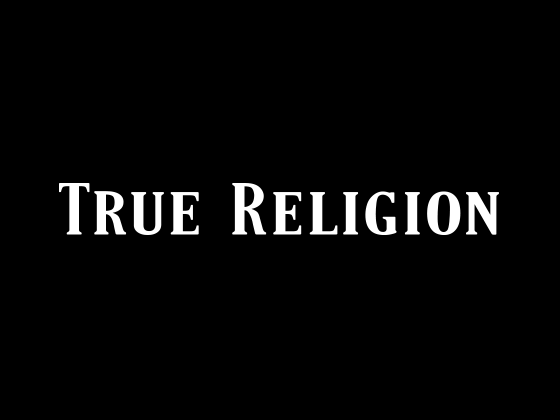 View True Religion Promo Code and Vouchers